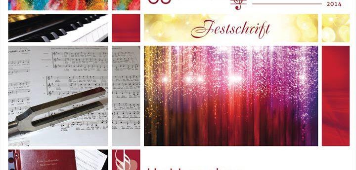 Titelseite Festschrift 50 Jahre Huttenchor