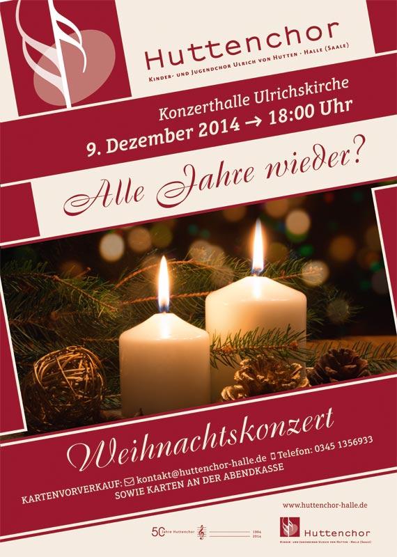 2014: Plakat Weihnachtskonzert