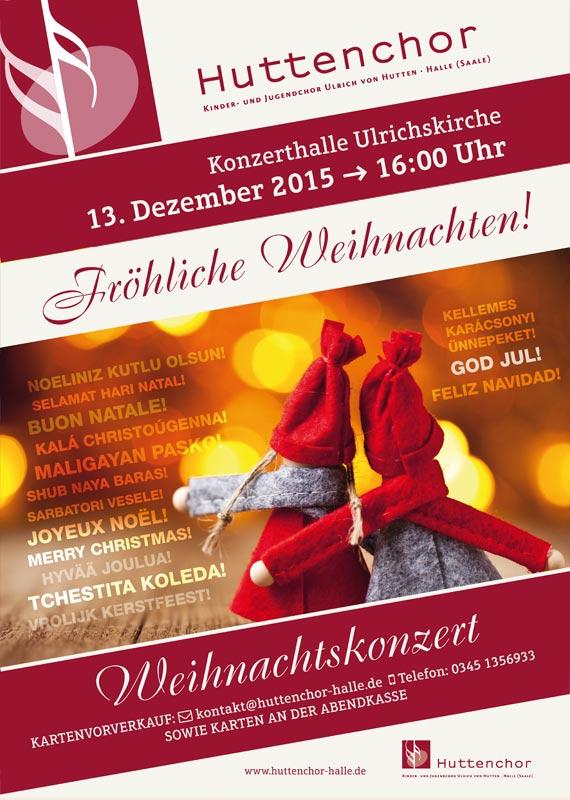 2015: Plakat Weihnachtskonzert