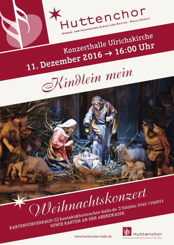 2016: Plakat Weihnachtskonzert