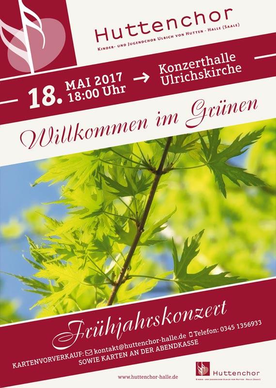 2017: Plakat Frühjahrskonzert