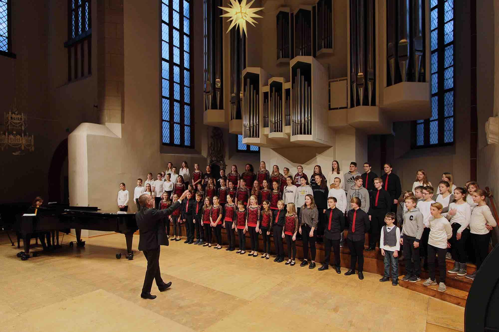 Huttenchor, Weihnachtskonzert, Konzerthalle